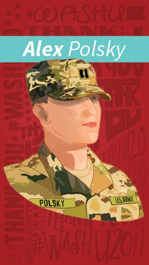 Illustration of Alex Polsky
