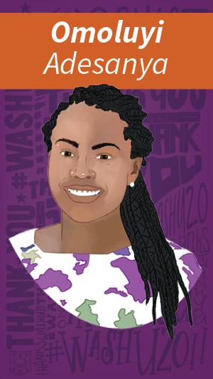 Illustration of Omoluyi Adesanya