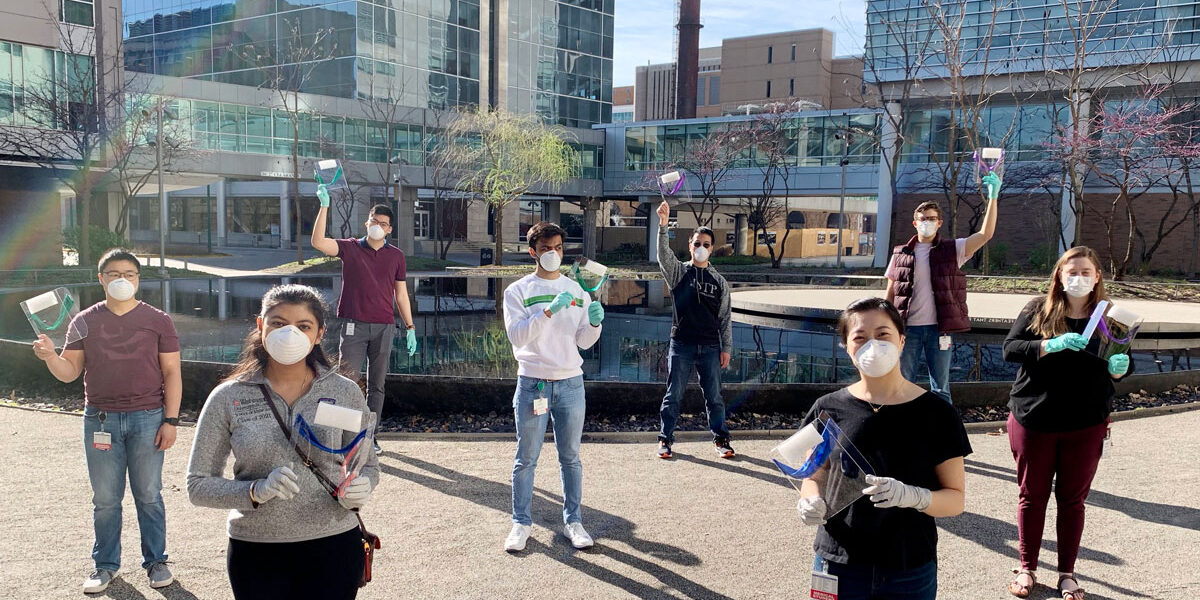Medical Campus students mobilize to help health-care workers, community