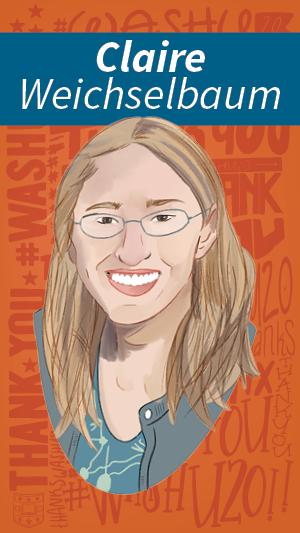 Illustration Portrait of Claire Weichselbaum