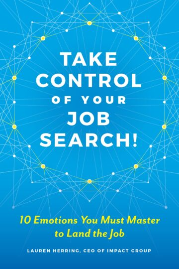 Blue book cover for Take Control of Your Job Search
