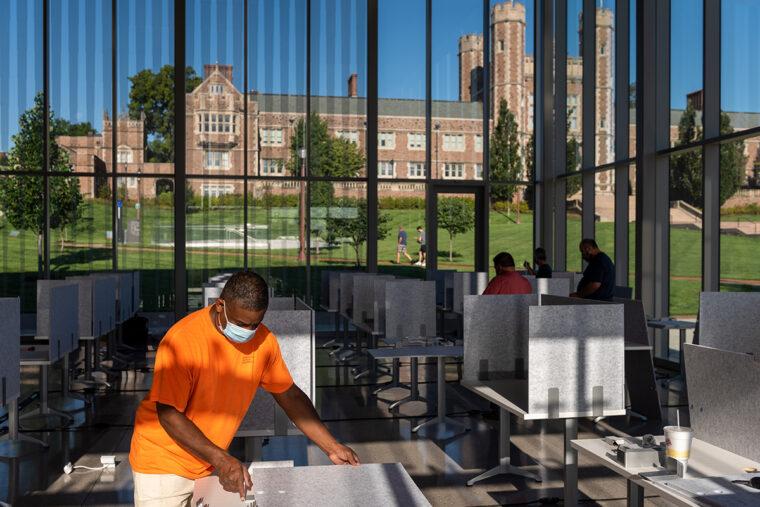 University donates study cubbies to STL organizations