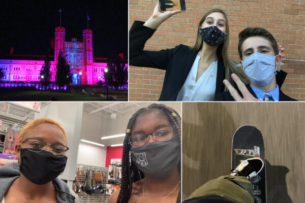 Class of 2024 video blogs capture college in time of COVID-19