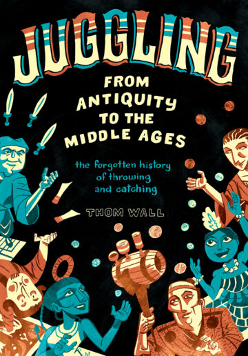 Book cover juggling from antiquity to the middle ages