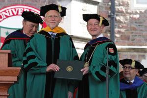 Charles Rice honorary degree