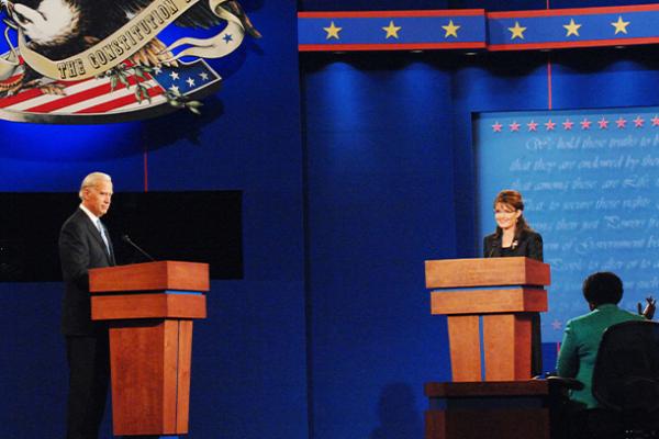 Biden and Palin photo