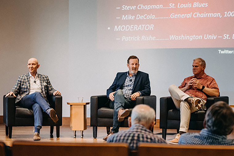 Panel at 2018 Sports Business Summit