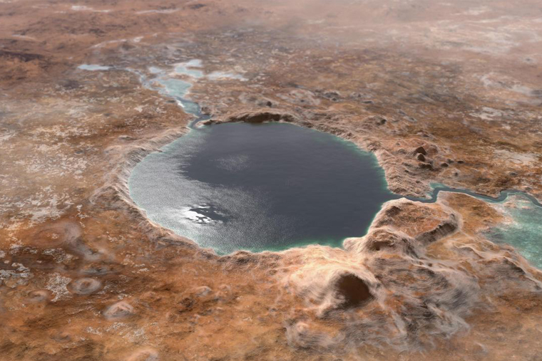 Newswise: Ancient-Jezero-Crater.jpg