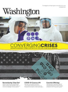 Cover of Washington Magazine for November 2020 issue