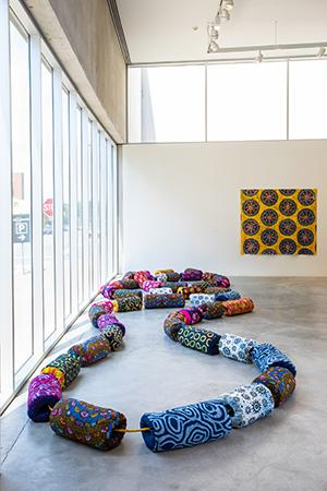 Addoley Dzegede: intallation piece of beads