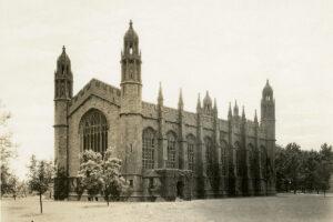 Graham Chapel in 1918
