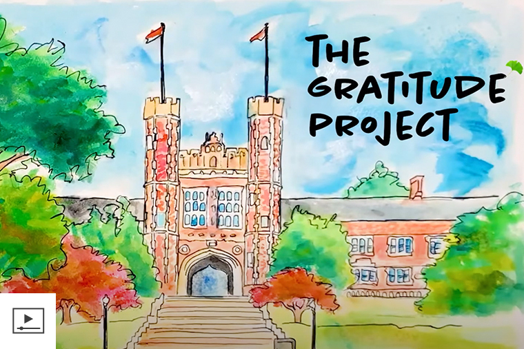 The Gratitude Project debuts