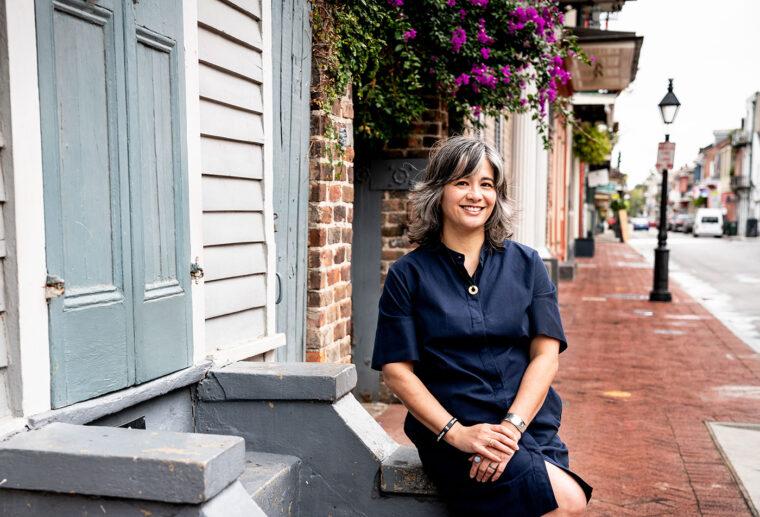 Marie Bigham in New Orleans