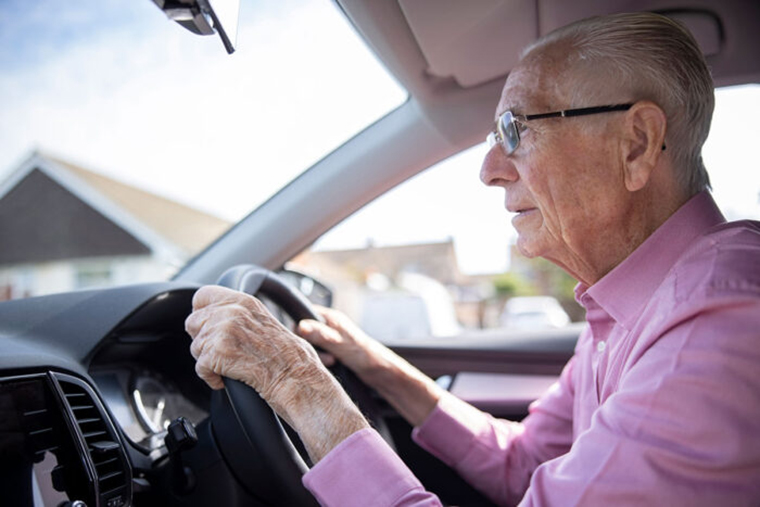 Can changes in driving habits predict cognitive decline?