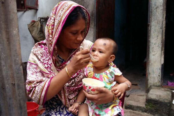 For malnourished children, a new type of microbiome-directed food boosts growth