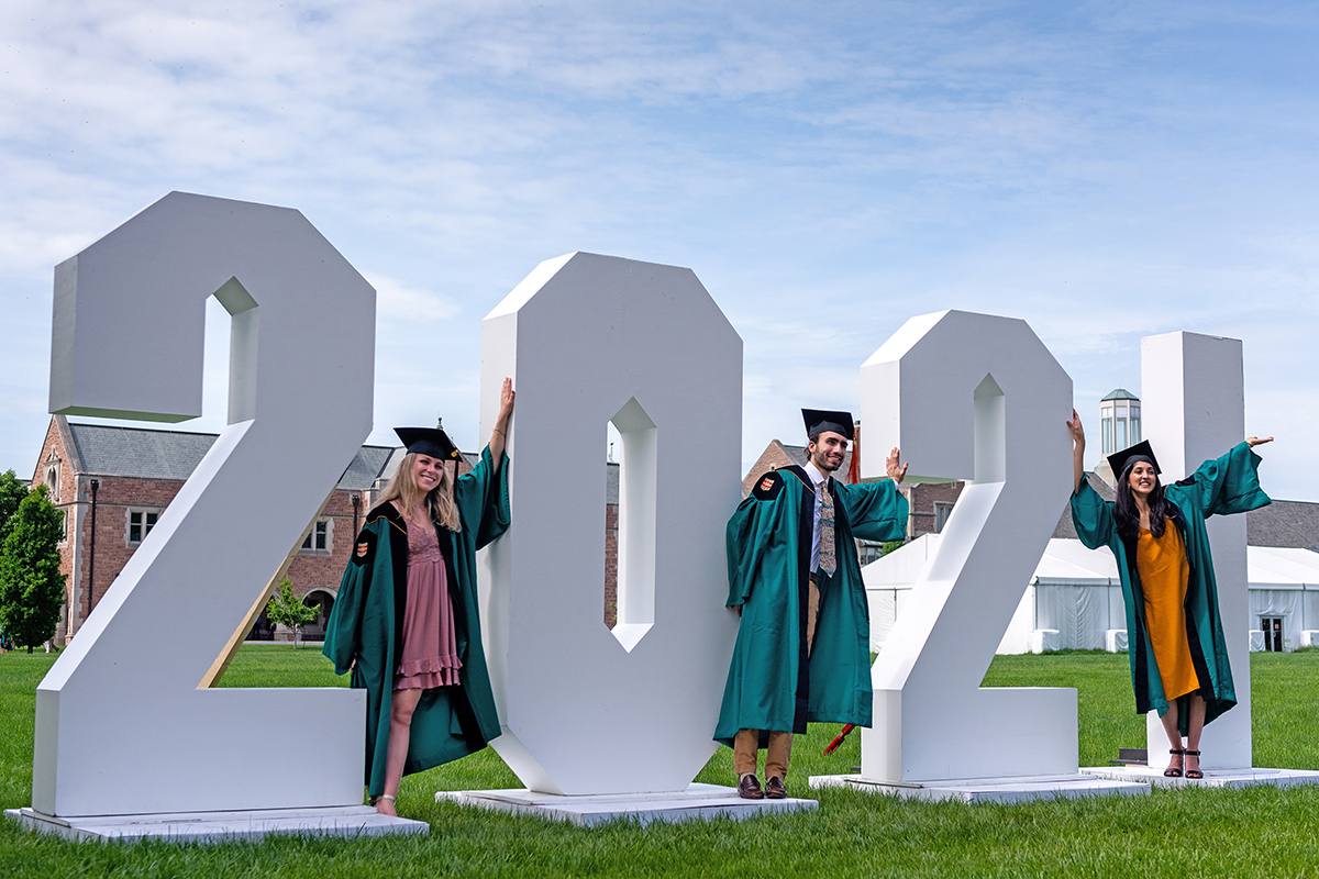 Commencement diary: sights, stories of the Class of 2021