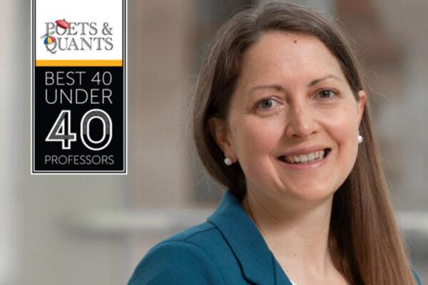 Cryder named to Poets & Quants' '40 Under 40'list
