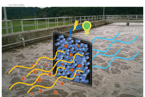 Wastewater system recovers electricity, filters water