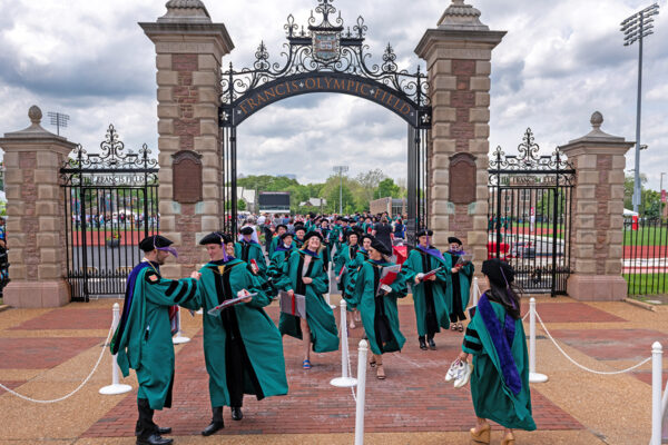 Class of 2020 graduates return to campus for in-person Commencement ceremony