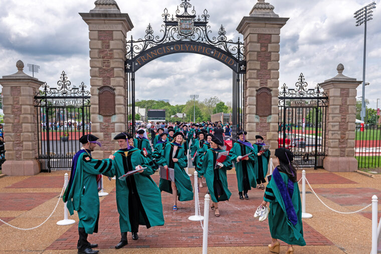 Class of 2020 grads return to campus for Commencement