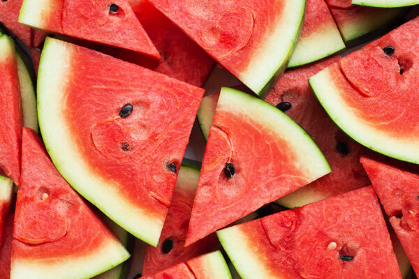 Watermelons actually came from northeast Africa