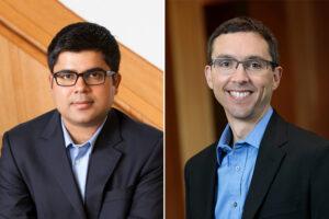Headshots of Rajan Chakrabarty and Randall Martin