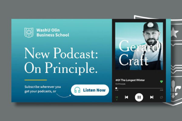 Olin's new 'On Principle' podcast focuses on leaders' decision-making process