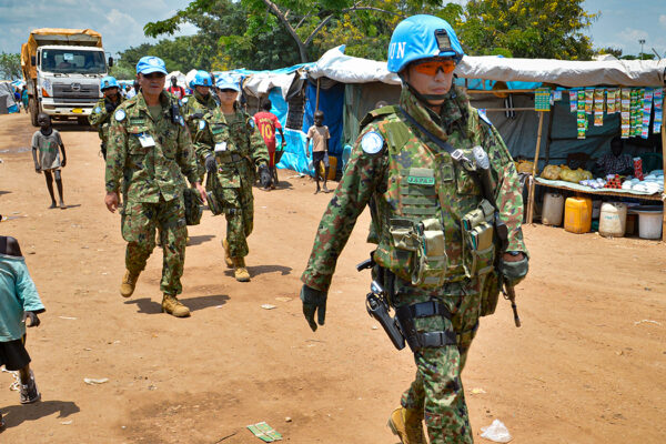 Keeping the peace: How UN peacekeepers maintain stability