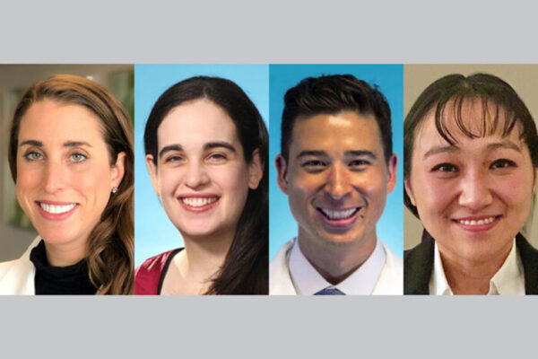 Four physician-scientists named Dean's Scholars