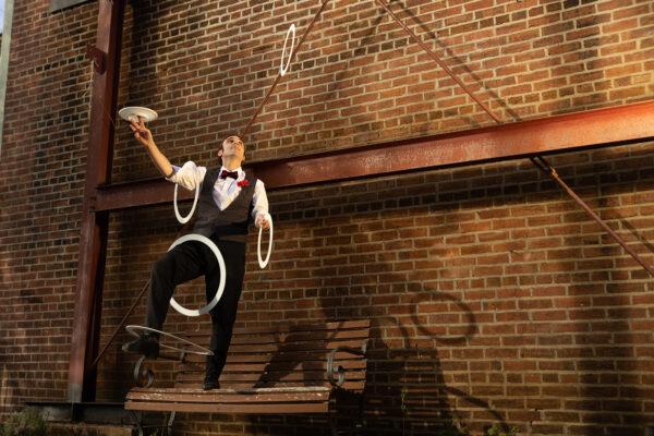 A jugglingact