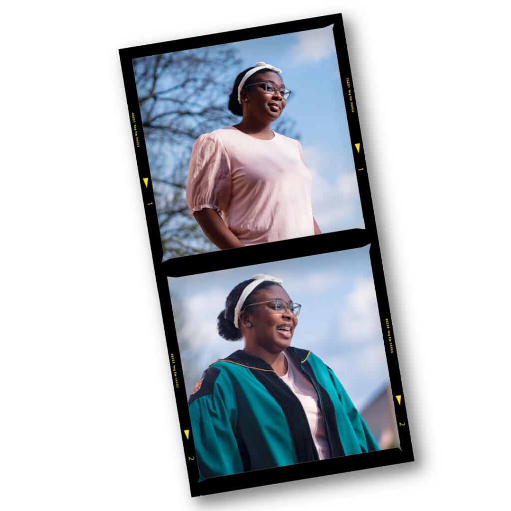 Jaliece Rivers, College Prep graduate