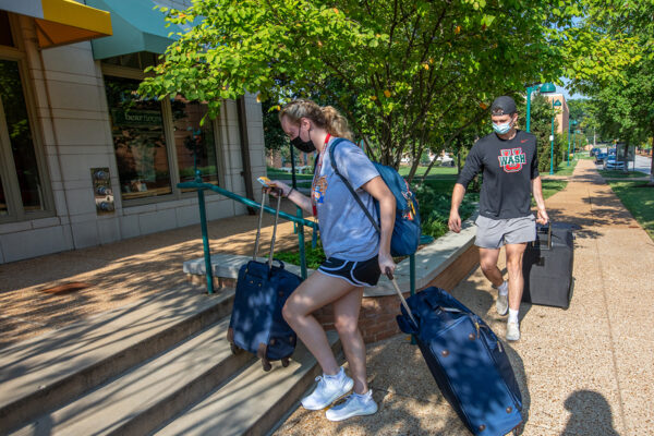 Washington University welcomes largest, most diverse class in its history