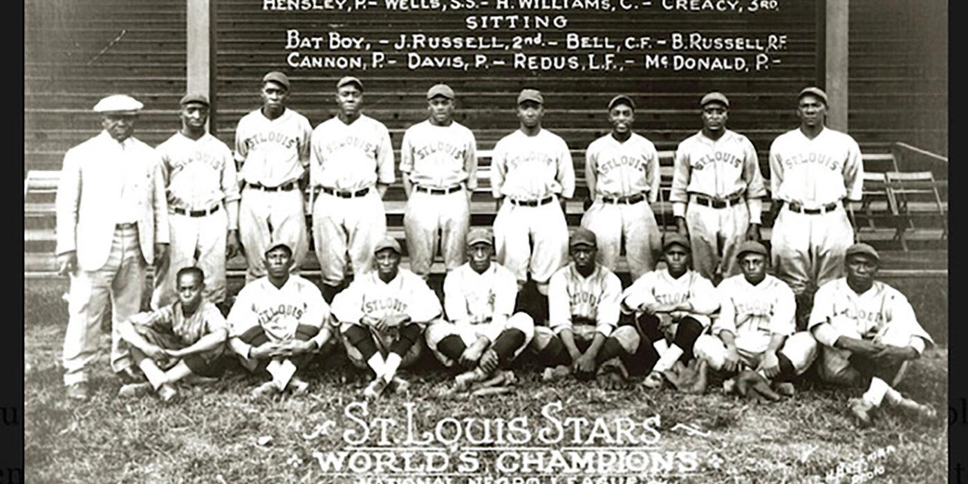 World Champion St. Louis Stars Negro league baseball team