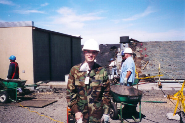 Inazu was in Pentagon on 9/11. He reflects on theday