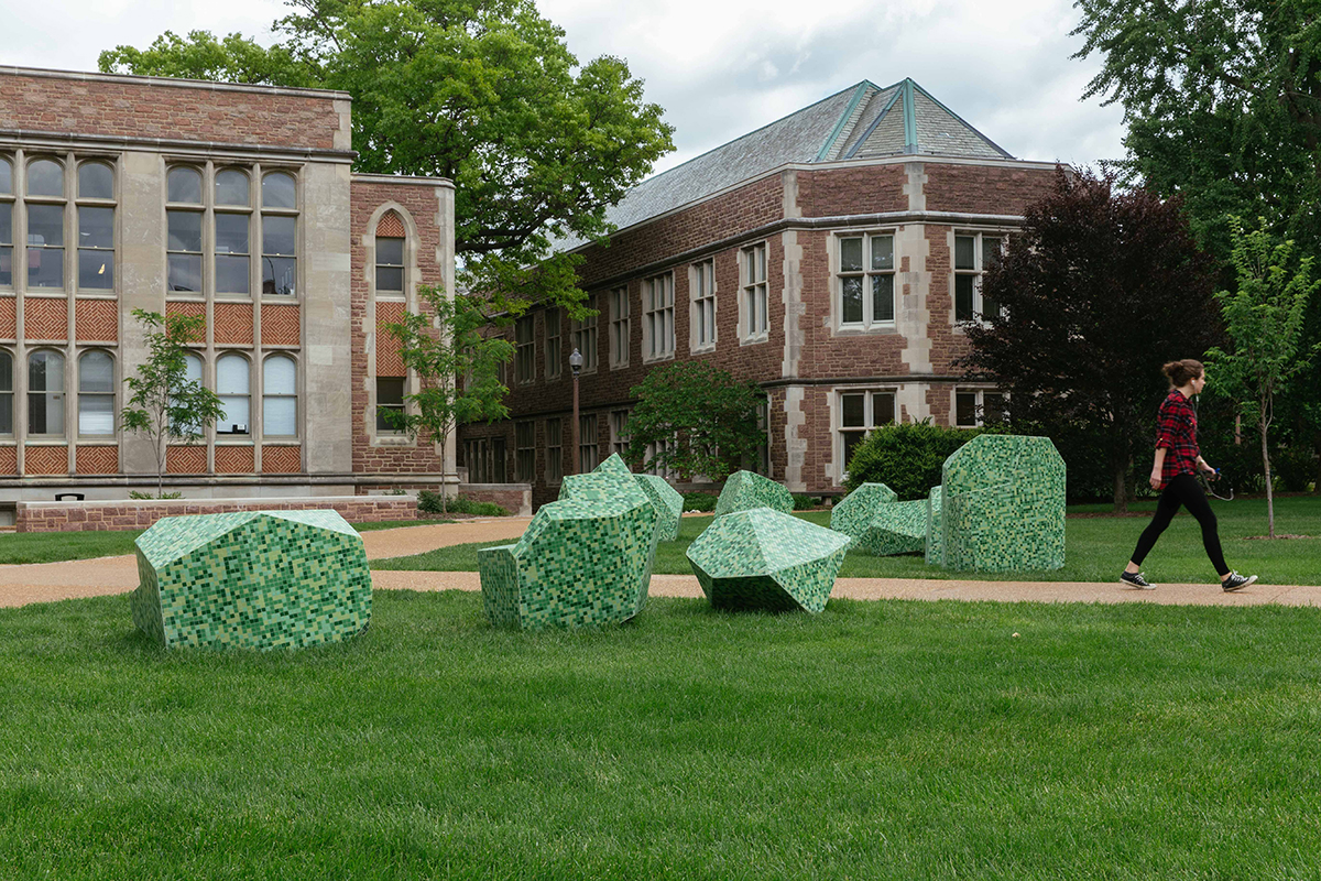 """""""Places"""" artwork on campus"""