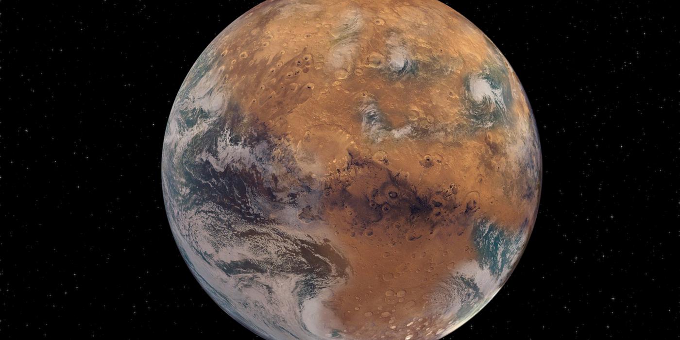 Watery Mars