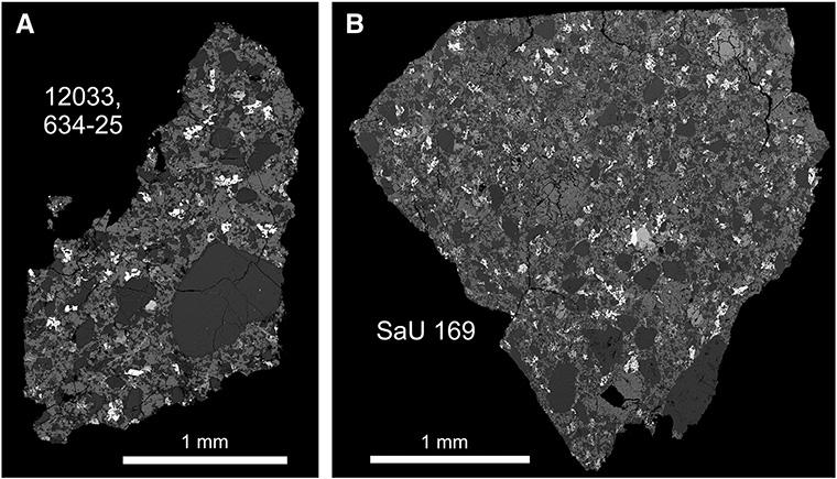 apollo 12 and lunar meteorite samples