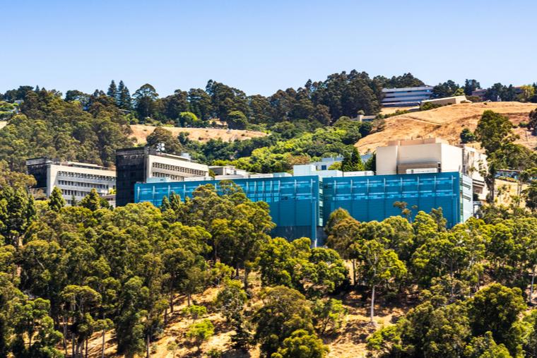 Aerial shot of Lawrence Berkeley National Laboratory
