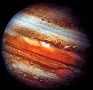 planet jupiter canvas