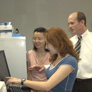 Bateman and students